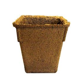 """4"""" Square CowPots™ – 20 Count Biodegradable Pots"""