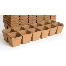 12 Cell Fertil Pots Strip – 64 Count Biodegradable Pots