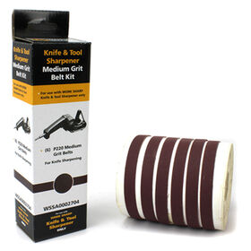 Work Sharp Medium-Grit Replacement Belts - Pack of 6.