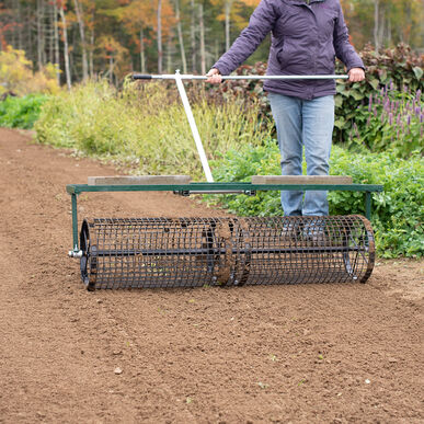 "Johnny's Seedbed Roller – 48"" Seed Bed Rollers"