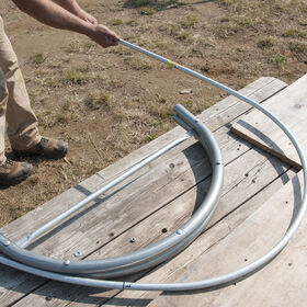 Quick Hoops™ Low Tunnel Bender - 3' W x 4.5' H Benders