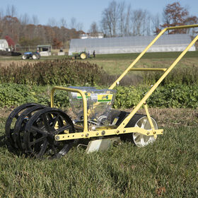 Jang JP-2 Two-Row Push Seeder