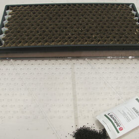 Paperpot Seeder - Large, with 4.5 mm holes.