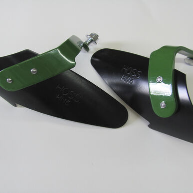 Hilling Plow Blades - Set of two with mounting hardware.