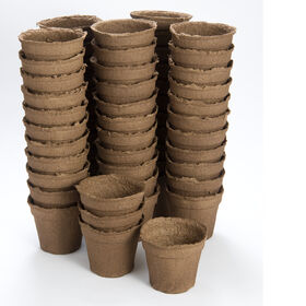 "5"" Round CowPots™ – 66 Count Biodegradable Pots"