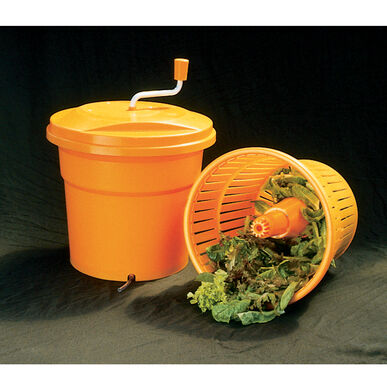 Dynamic Salad Spinner with Sealed Cover, 5 Gal.