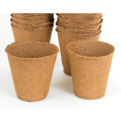 "4"" Round Fertil Pots – 810 Count Biodegradable Pots"