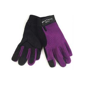 女性的虹膜手套