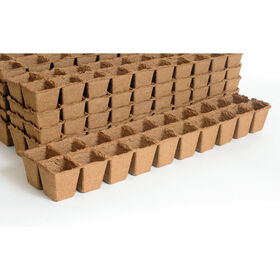 20 Cell Fertil Pots Strip – 87 Count Biodegradable Pots