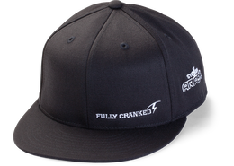 Arashi® Slogan Flex Fit Flat Brim Hat