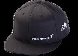 Arashi® Slogan Flex Fit Flat Brim Hat