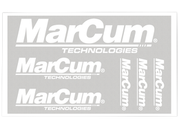 MarCum Pro Staff Decals Bulk