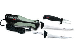 Heavy Duty Electric Fillet Knife Combo