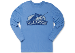 Williamson Logo Performance Long Sleeve T-Shirt
