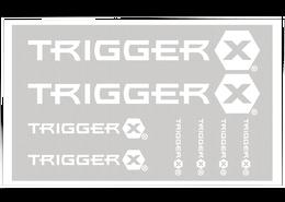 Trigger X® Pro Staff Decals Bulk