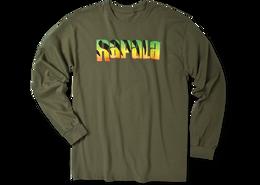 Rapala Logo Firetiger Long Sleeve T-Shirt