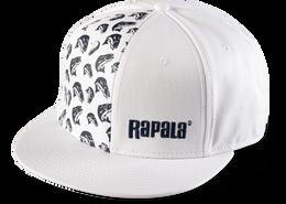 Rapala Fish Pattern Flat Brim
