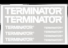 Terminator Pro Staff Decals Bulk