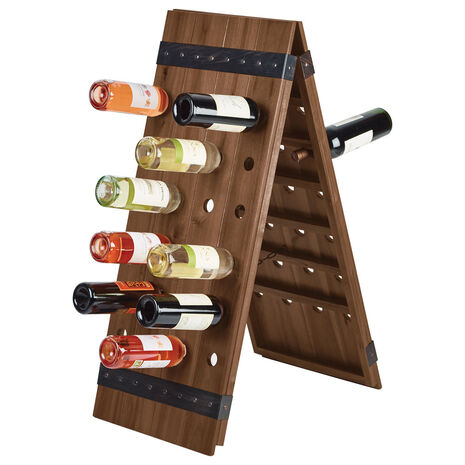 Monteray 48 Bottle Floor Standing Wine Rack