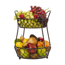 Lattice 2 Tier Countertop Basket