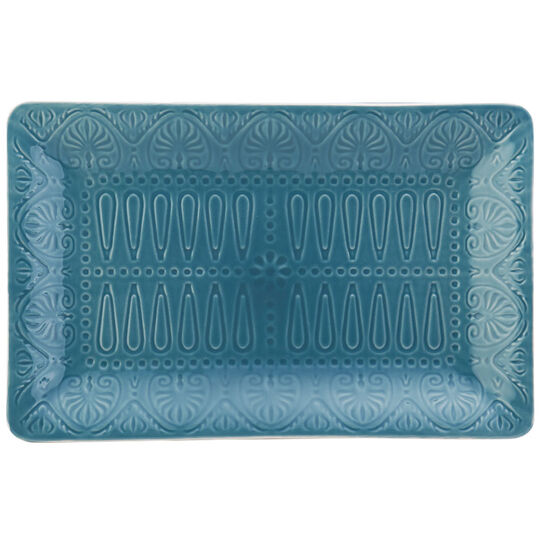 Turquoise Rectangular Platter