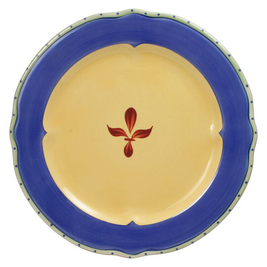 Dinner Plate with Blue Band