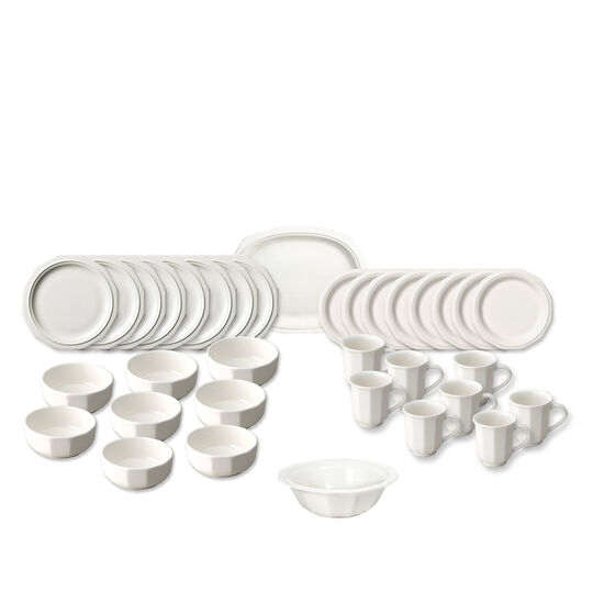 Service for 8 with Serveware