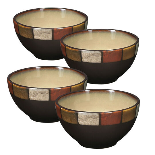 Set of 4 Fruits Bowls