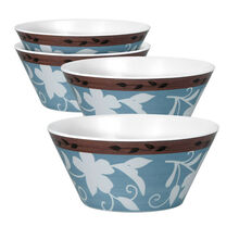 Set of 4 Melamine Soup Cereal Bowls