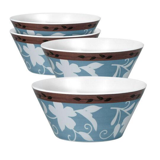 Set of 4 Melamine Soup Cereal Bowls