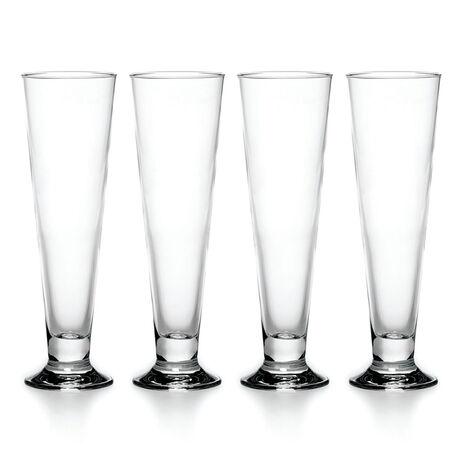 Set of 4 Pilsner Glasses