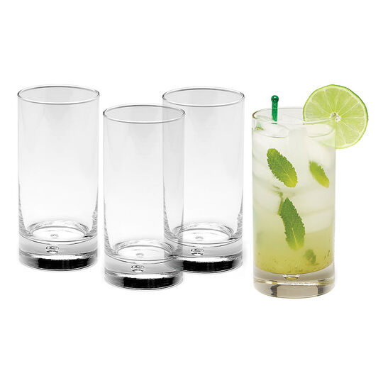 Set of 4 Highball Glasses