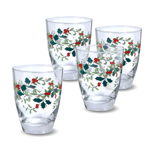 Set of 4 Juice Glasses