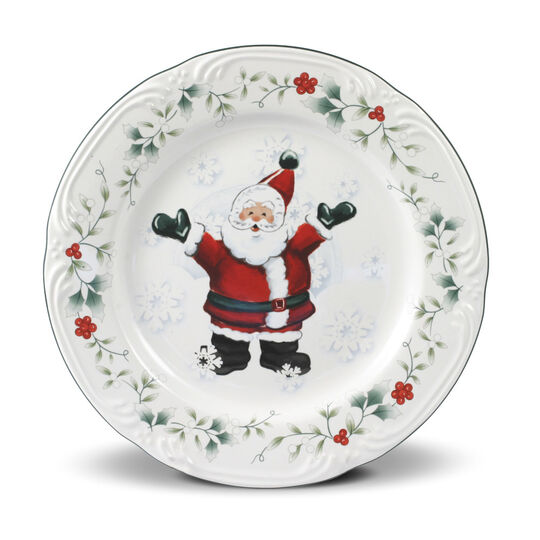 Jolly Santa Salad Plate