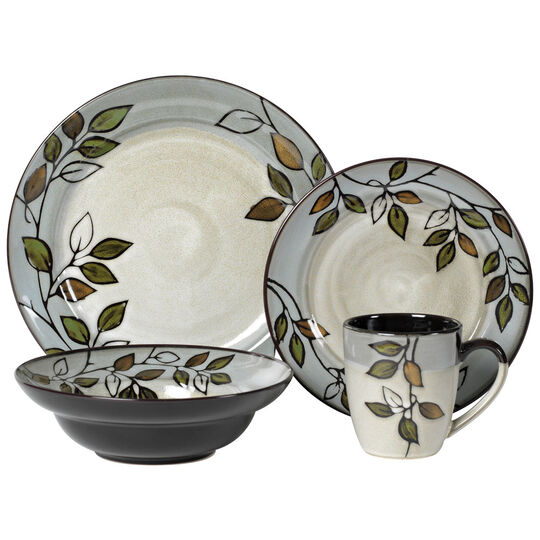 Dinnerware Set, 48 Piece, Service for 12
