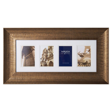 4 Opening Antique Gold Frame Collage