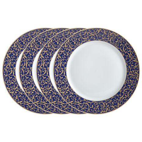 Set of 4 Round Dinner Plates