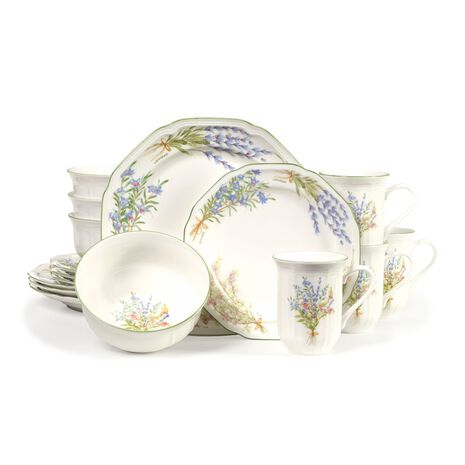 Dinnerware Set, 32 Piece, Service for 8