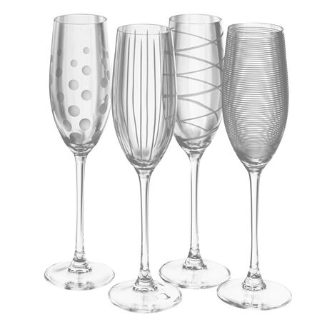 Set of 4 Flutes