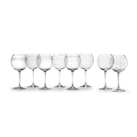 Set of 8 Balloon Glasses