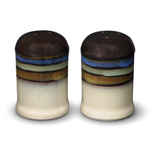 Blue Salt and Pepper Set
