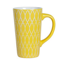 Tall Yellow Mug