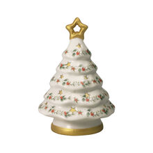 Gold Star Christmas Tree with LED Light, 8.5 Inch