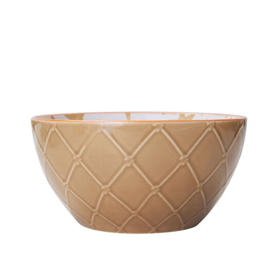 Beige Starfish Soup Cereal Bowl