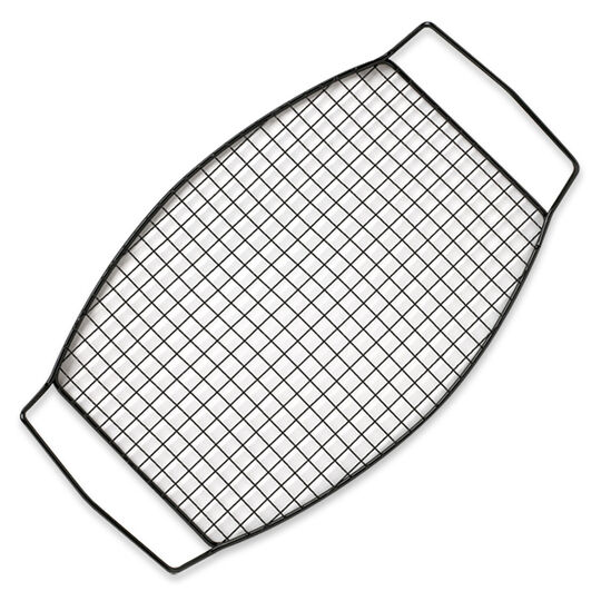 Barbecue Oval Grid Grill Basket