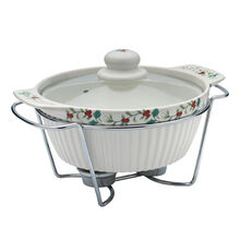 Soup Tureen with Wire Rack
