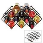 Stackable 12 Bottle Wine Rack