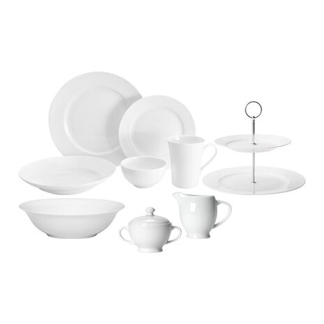Service for 12 with Serveware