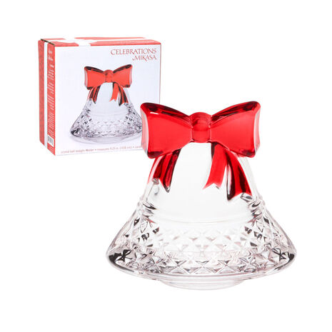 Crystal Bell Tea Light Holder