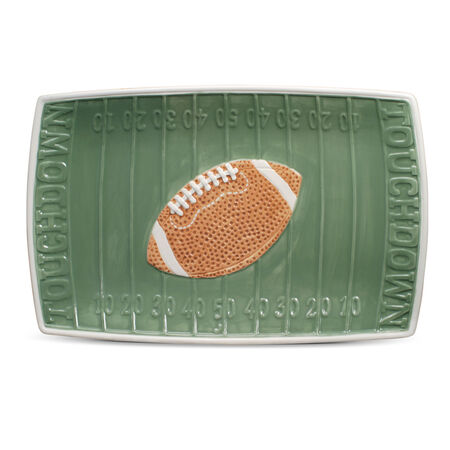 Rectangular Football Platter